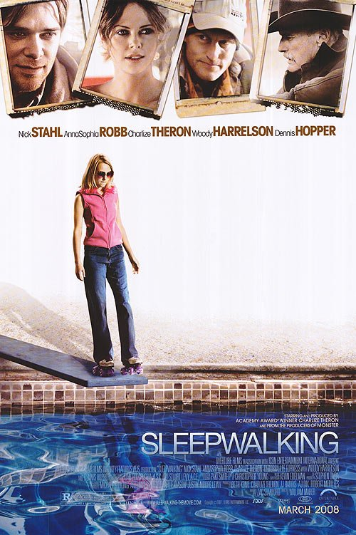 Sleepwalking Original Movie Poster Double Sided 27 X40