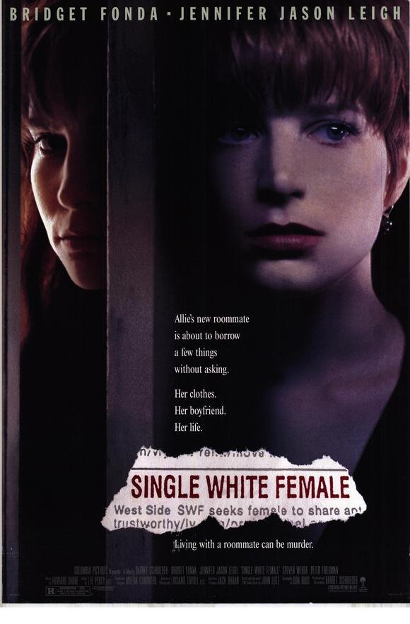 Single White Female Original Movie Poster Double Sided 27 X40