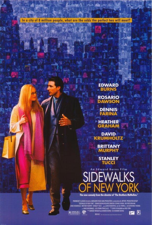 Sidewalks of New York Original Movie Poster Single Sided 27 X40