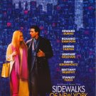 Sidewalks of New York Original Movie Poster Single Sided 27 X40