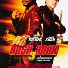 Rush Hour 3 Version B Original Double Sided Movie Poster 27x40
