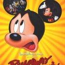 Runaway Brain Original Double Sided Movie Poster 27x40
