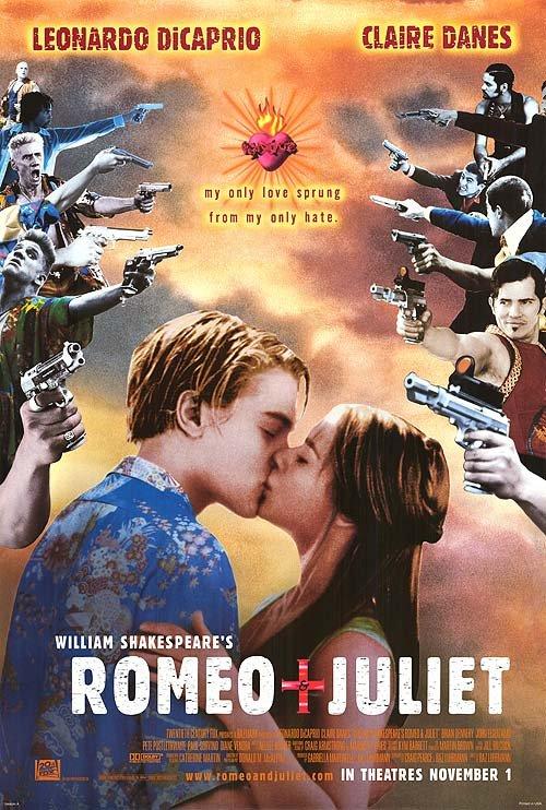 Romeo & Juliet Original Single Sided Movie Poster 27x40