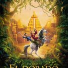 Road to El Dorado version A Original Double Sided Movie Poster 27x40