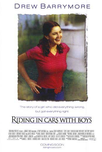Riding In cars With Boys Original Double Sided Movie Poster 27x40