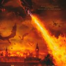 Reign  Of Fire Original Movie Poster  Double Sided 27 X40