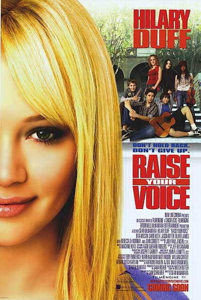 Raise Your Voice.Original Movie Poster  Double Sided 27 X40
