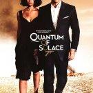 Quantum Of Solace ( NOVEMBER ) Regular Original Movie Poster  Single Sided 27 X40