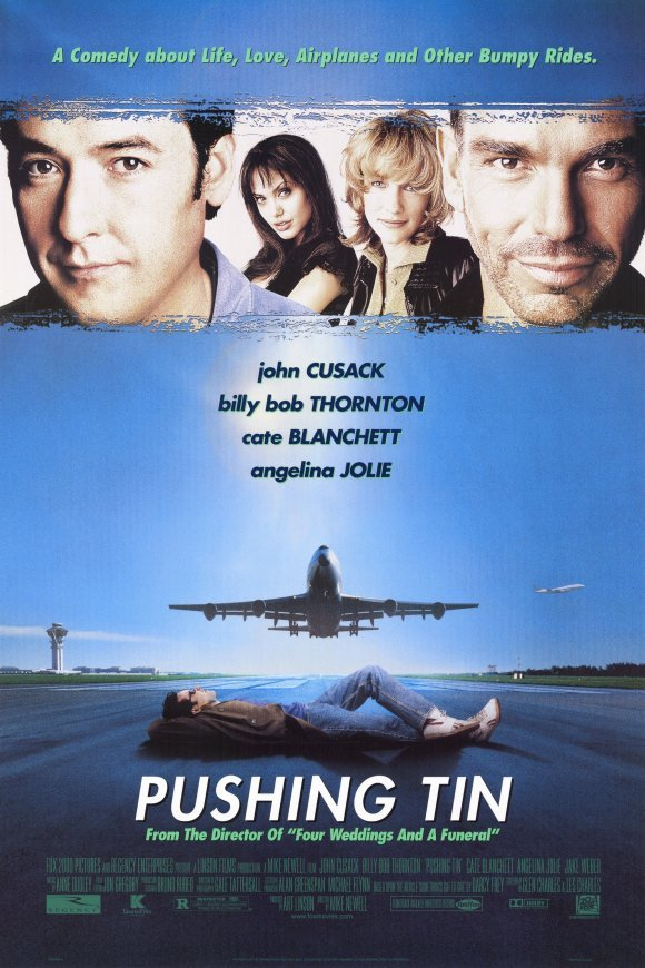 Pushing Tin Original Movie Poster  Double Sided 27 X40