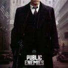 Public Enemies Original Movie Poster  Double Sided 27 X40