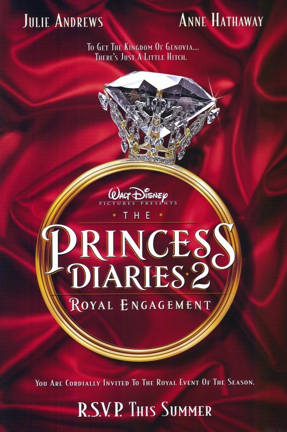 Princess Diaries 2 Advance Original Movie Poster  Double Sided 27 X40