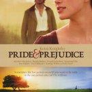 Pride & Prejudice Original Movie Poster  Double Sided 27 X40