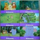 Pooh's Heffalump Lobby Cards 6 pcs per set Original