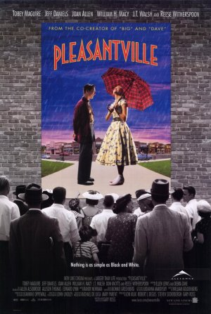 Pleasantville Original Movie Poster Single Sided 27 X40