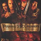 Pirates of the Caribbean Reg : The Curse Of The Black Pearl Orig Movie Poster Double Sided 27 X40