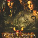 Pirates of the Caribbean Intl : Dead Mans Chest Orig Movie Poster Double Sided 27 X40