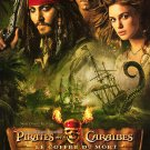 Pirates of the Caribbean French : Dead Mans Chest Orig Movie Poster Double Sided 27 X40