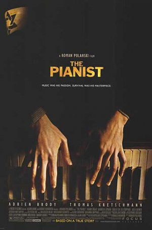 Pianist Original Movie Poster Single Sided 27 X40