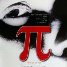 Pi Original Movie Poster Double Sided 27 X40