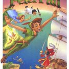 Peter Pan Re Issue 1989  Original Movie Poster Single Sided 27 X40