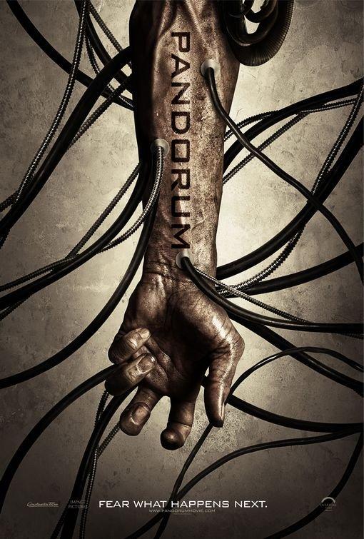 Pandorum Original Movie Poster Double Sided 27 X40