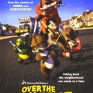 Over The Hedge Version B Original Movie Poster Double Sided 27 X40