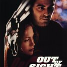 Out of Sight Intl Original Movie Poster Double Sided 27 X40