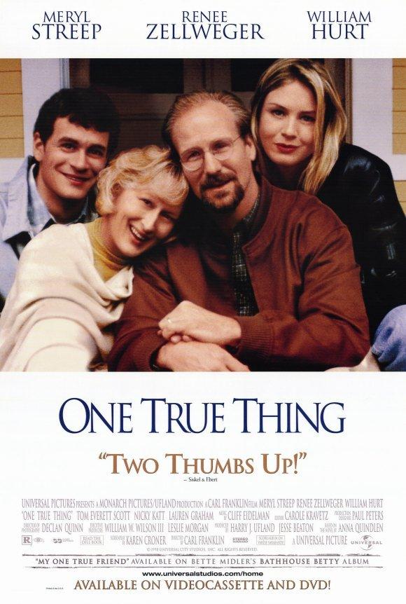 One True Thing Original Movie Poster Single Sided 27 X40