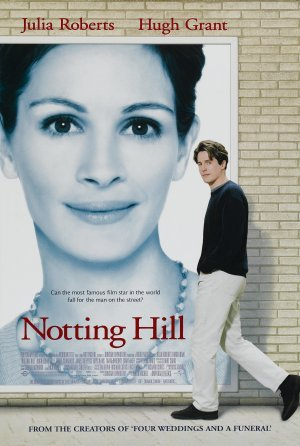 Notting Hill Original Movie Poster Double Sided 27 X40