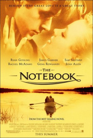 Notebook Version B Original Movie Poster Double Sided 27 X40