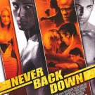 Never Back Down  Original Movie Poster Double Sided 27 X40