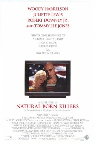 Natural Born Killers  Original Movie Poster Double Sided 27 X40