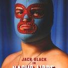 Nacho Libre Advance Version C Original Movie Poster Double Sided 27 X40