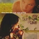 My Summer Of love Original Movie Poster  Double Sided 27 X40