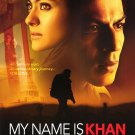 My Name is Khan Original Movie Poster  Double Sided 27 X40