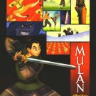 Mulan Karate Original Movie Poster  Double Sided 27 X40