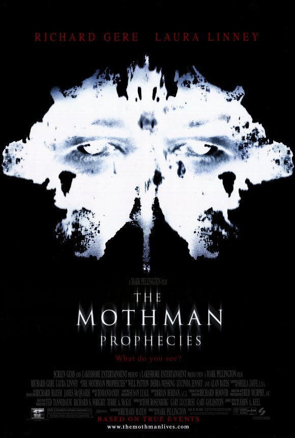 Mothman Prophecies Original Movie Poster  Double Sided 27 X40