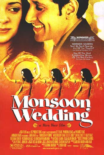 Monsoon Wedding  Movie Original Movie Poster Double Sided 27 X40