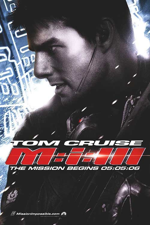 Mission Impossible 3 Advance B Original Movie Poster  Double Sided 27 X40