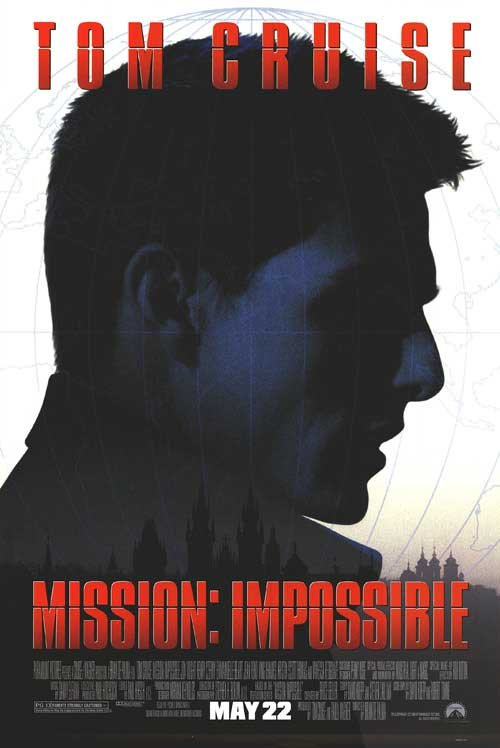 Mission Impossible  Regular Original Movie Poster  Double Sided 27 X40