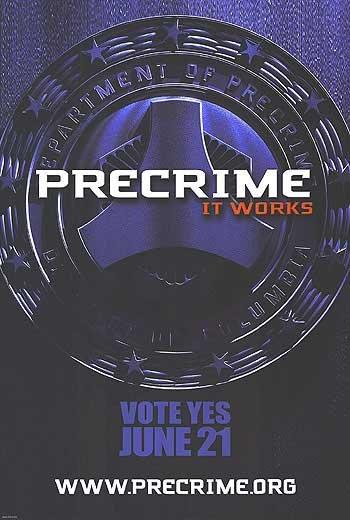 Minority Report Advance Original Movie Poster  Single Sided 27 X40