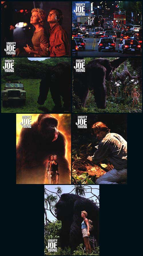 Mighty Joe Young Lobby Cards 7 Cards per set  ORIG