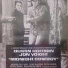 Midnight Cowboy Dvd Poster Original Movie Poster Single Sided 27 X40