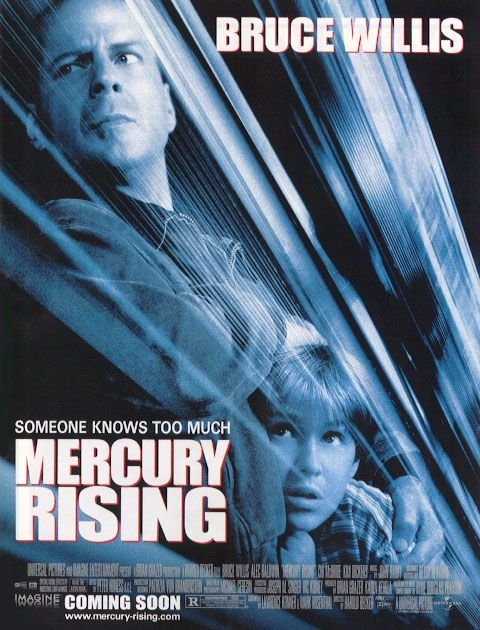 Mercury Rising Final Original  Movie Poster 27X40 Double Sided