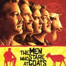Men Who Stare at Goats Original  Movie Poster 27X40 Double Sided