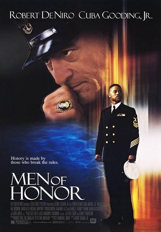 Men of Honor Original  Movie Poster 27X40 Double Sided