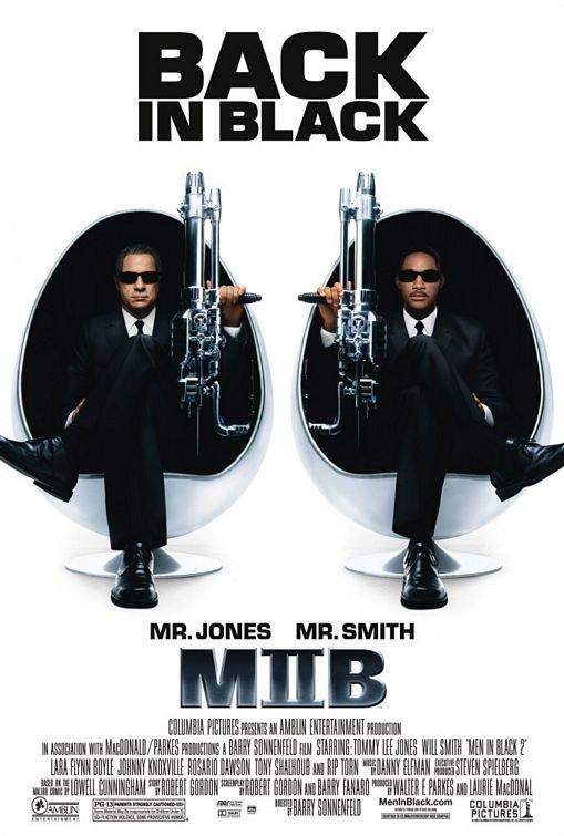 Men In Black II Final Original  Movie Poster 27X40 Double Sided