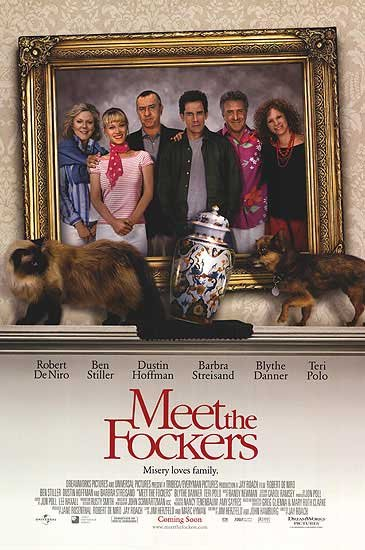 Meet The Fockers Intl Original Movie Poster Double Sided 27 X40