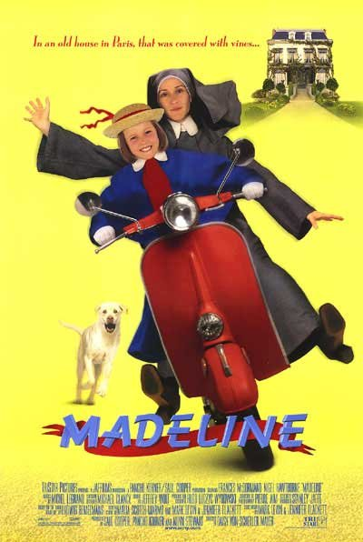 Madeline Original Movie Poster Double Sided 27 X40