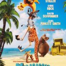 Madagascar (Beach) Original Movie Poster Double Sided 27 X40
